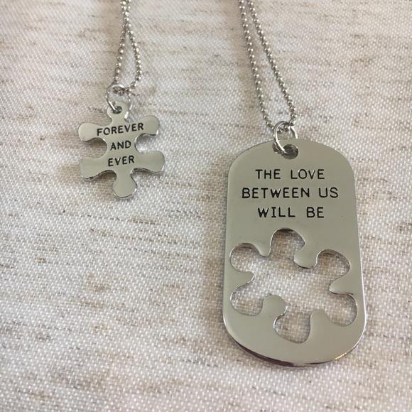 couples dog tags